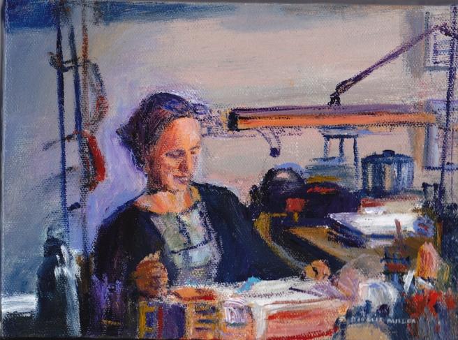Lorraine_Doug Miller painting
